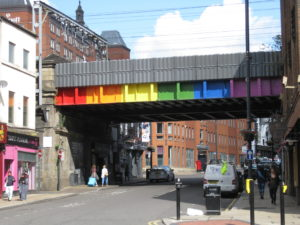 Freedom Bridge, Leeds. Photo by to Chemical Engineer and licensed under a Creative Commons Attribution-Share Alike 4.0 International license.